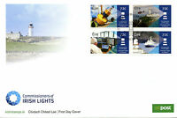 Ireland 2016 FDC Commissioners of Irish Lights 4v Cover Ships Lighthouses Stamps