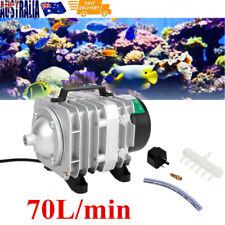 70L/min Commercial Air Pump for Aquarium Fish Tank Hydroponics Pond