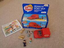 Vintage Oh Penny Figures Post Van by Bluebird Toys post office van