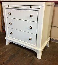 Thomasville furniture Manuscript White 3 Drawer Nightstands 2