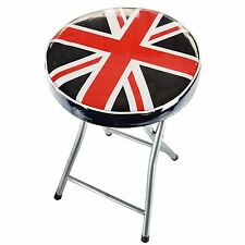 Portable Folding Camping Picnic chair Party Outdoor Garden Stool Union Jack Seat