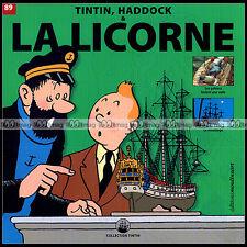 TINTIN, HADDOCK & LA LICORNE N°89 (Hergé) : LES GABIERS, TINTIN & ORANGES BLEUES