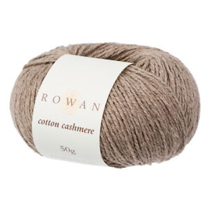 *SALE* Rowan Cotton Cashmere -  VARIOUS SHADES - 50g balls