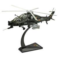 1/48 WZ-10 Flugzeugmodell Simuliertes Bewaffnetes Hubschraubermodell Spielzeug