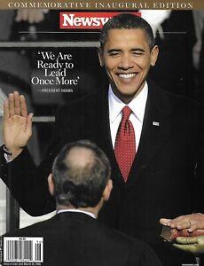 Newsweek Magazine Barack Obama Commemorative Inaugural Edition Freedom Riders