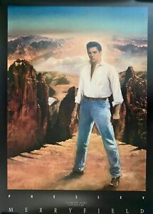 Elvis Presley Tommy Merryfield Poster 46-1/2 x 33 NEW/MINT 1987