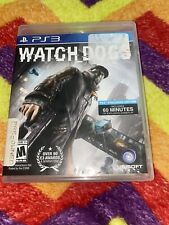 Watch Dogs (Sony PlayStation 3, 2014) w/ Case ps3 Free Shipping
