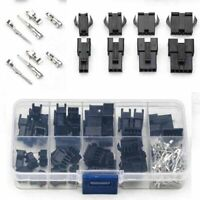 200pcs 2/3/4/5 Pin Male/Female Jumper Header Housing Wire Connector Plug Kit #JP