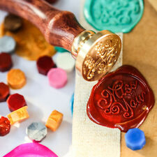Weinlese-Particle Rubber Sealing Wax Seal Stamp DIY Scrapbooking
