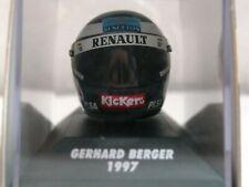 WOW EXTREMELY RARE Helmet Berger 1997 Bieffe Benetton  Hockenheim 1:8 Minichamps