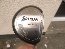 Srixon W-302  14.5  degree 3 wood with steel  shaft nice club