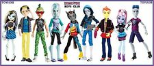 Monster High BOYS CLUB Best of Beast HARD TO FIND 9 Doll COLLECTION Bundle Set !
