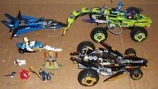 Lego NINJAGO Store Display Lot 9445 FANGPYRE 9444 Cole's Tread Assault 9442