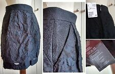 H&M GONNA 34 XS BLU NERO JACQUARD rose urban style blue black skirt SVENDO