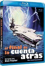THE FINAL COUNTDOWN (1980) **Blu Ray B** Kirk Douglas, Martin Sheen