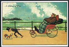 Postcard. Art/Painting. Labour of Love. Tom Browne. Unused.