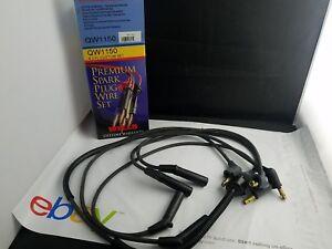 Spark Plug Wire Set Wells QW1150 fits 86-87 Honda Civic 1.5L-L4 NOS
