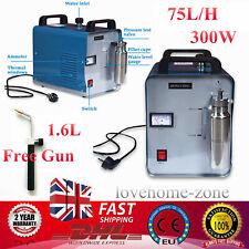 300W 75L Oxygen Hydrogen HHO Gas Flame Generator Torch Acrylic Polisher Machine