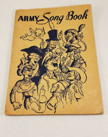 1941 WWII Army Song Book Booklet Secretary of War 64 Pages