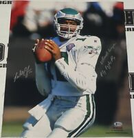 Randall Cunningham Signed Eagles Football 16x20 Photo BAS Beckett COA Autograph