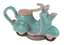 Blue Sky Clayworks - Green Motorcycle Teapot - 14700