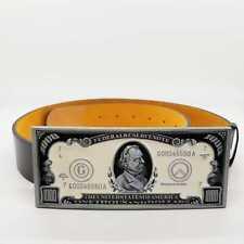 $1000 Thousand Dollar Bill American US currency Novelty Belt Buckle Money