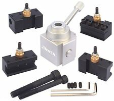 Jinwen Tooling Package Mini Lathe Quick Change Tool Post and Holders Multifid