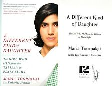Maria Toorpakai~SIGNED~A Different Kind of Daughter~1st/1st+Photos!
