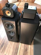 B&w Bowers & Wilkins 802 matrice Series 2 In Black Ash (visuellement)