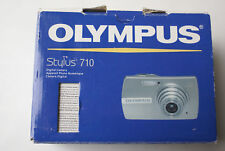 Olympus Stylus 710 AW 7.1 MP 3x Optical Zoom w/ Charger/xD Card/Cable/CD/Manuals