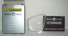 Optische Gläser für Taucherbrille Look 2 ( Aqua Lung ) mit Sehstärke -6,00Dpt.