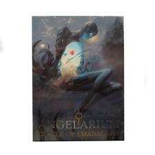 Angelarium Oracle di emanazioni Hard Box Set Libro & 33 schede ispiratrici