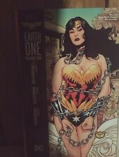 DC Comics Wonder Woman Earth One Volume1 (Trade) and2 (Hardcover) Grant Morrison