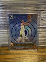 "2019 - 2020 Donruss Optic Steph Curry ""T-Minus 321"" Insert Purple Prizm Warriors"