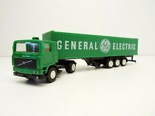 Herpa 1/87 801221 Volvo F12 Container Sattelzug General Electric OVP C3107