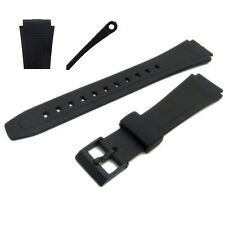 Repuesto De Reloj Correa de resina 18 mm para adaptarse a Casio DB36