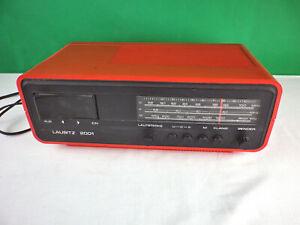 RFT Radio Lausitz 2001 rot DDR Radio 70er Jahre VEB Robotron Hoyerswerda sn27