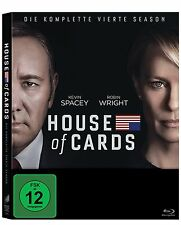 4 Blu-rays *  HOUSE OF CARDS - SEASON / STAFFEL 4  # NEU OVP <