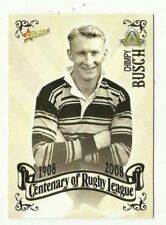 2008 NRL SELECT CENTENARY WESTS TIGERS JOE BUSCH COMMON #31 Card free post