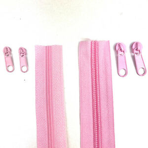 Continuous Zipper Roll, Multiple colours,  zip Size 3 and Size 5