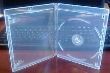 New 6 Pk CLEAR 12.5 mm VIVA ELITE Blu-Ray Case Single 1 Disc Storage Holder