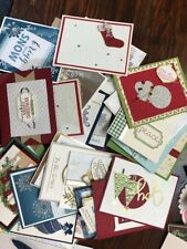 Stampin' Up! retired  35 Christmas   full cards  #5