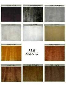 Standard Short Pile Faux Fur Fabric - White/Grey/Black/Brown - W160 / YF2