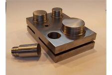 Fustellatrice fustelle Big Size acciaio 4 pz base orafo taglio Disc Cutter tools