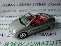 """Voiture 1/43 solido """"made in France"""" PEUGEOT 206 CC coupé"""