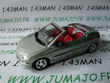 "Voiture 1/43 solido ""made in France"" PEUGEOT 206 CC coupé"