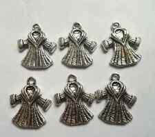 30pcs Tibetan silver clothes charms Pendants  18.5x21mm
