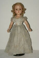 "PRETTY! Vintage 20"" R&B Nancy Lee Composition All Original Doll"