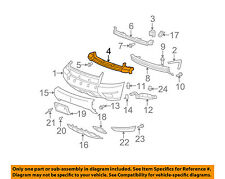 Chevrolet GM OEM 07-14 Suburban 1500 Front Bumper-Center Support 15849469