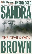 THE DEVIL'S OWN unabridged audio book on CD by SANDRA BROWN - Brand New!